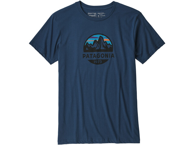 Patagonia Fitz Roy Scope Organic T-Shirt Homme, stone blue